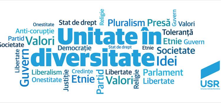 Unitate în diversitate – Sondaj intern USR Bihor