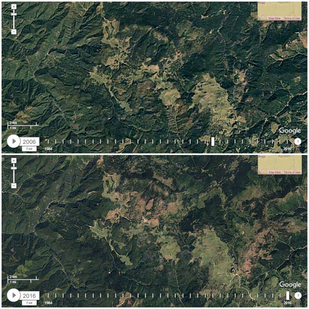 Imagini comparative 2006-2016