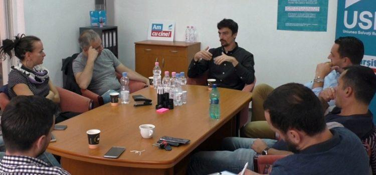 USR Bihor a organizat, alături de deputatul Adrian Dohotaru o dezbatere pe marginea bugetului participativ
