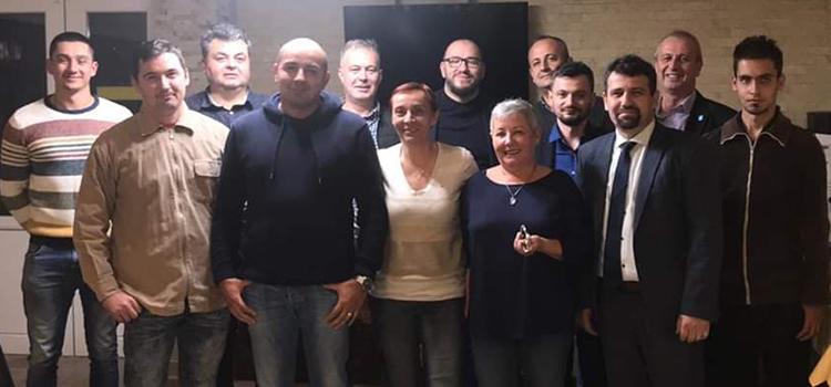 Constituirea filialei și primele alegeri ale USR Marghita