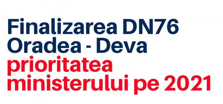 Anul acesta vor fi finalizate lucrările pe DN 76 Oradea – Deva!